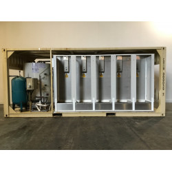 Ablution unit, brand new and unused