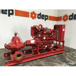 John Deere 6081 powered waterpump